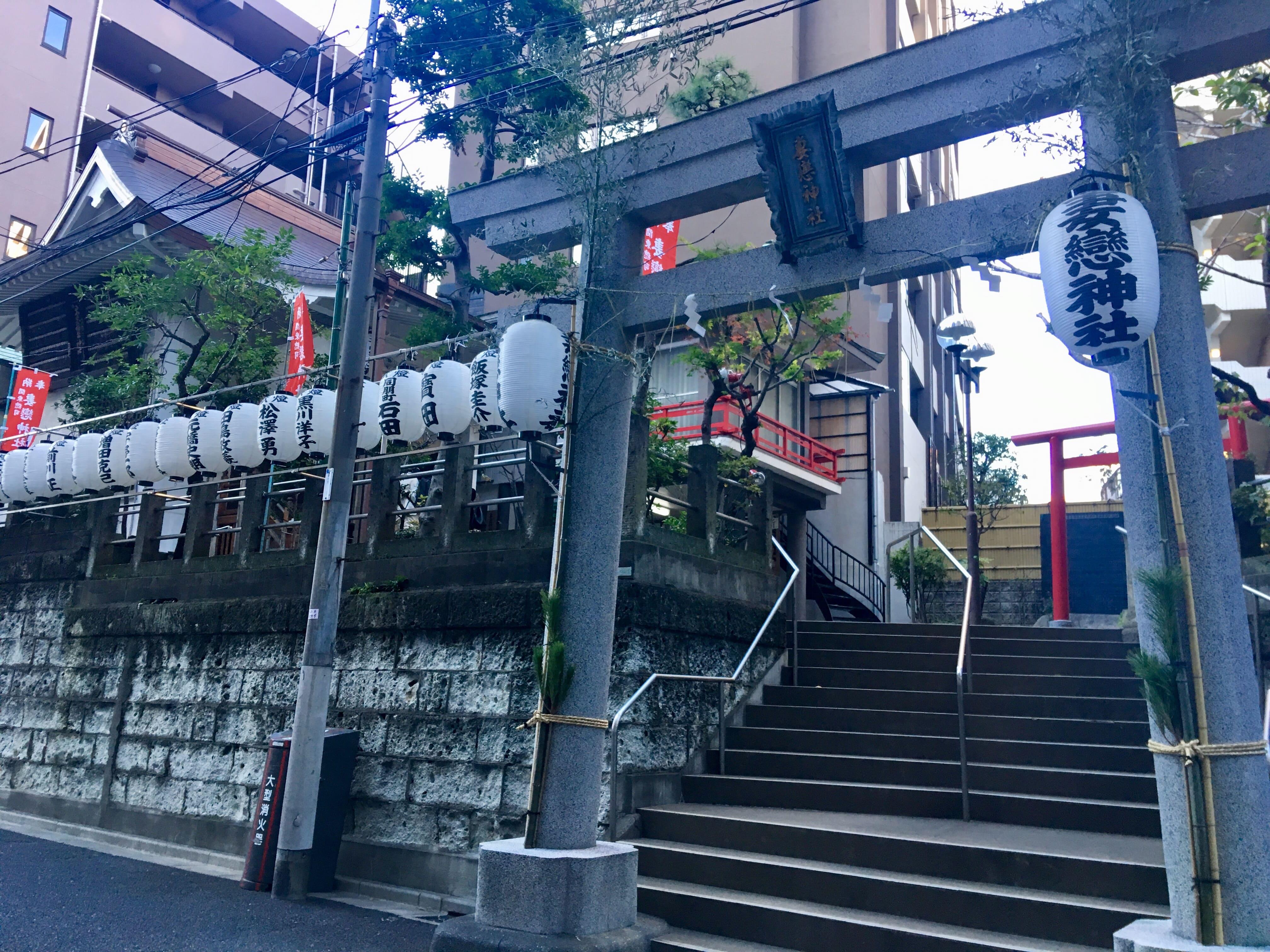 妻恋神社の全体画像
