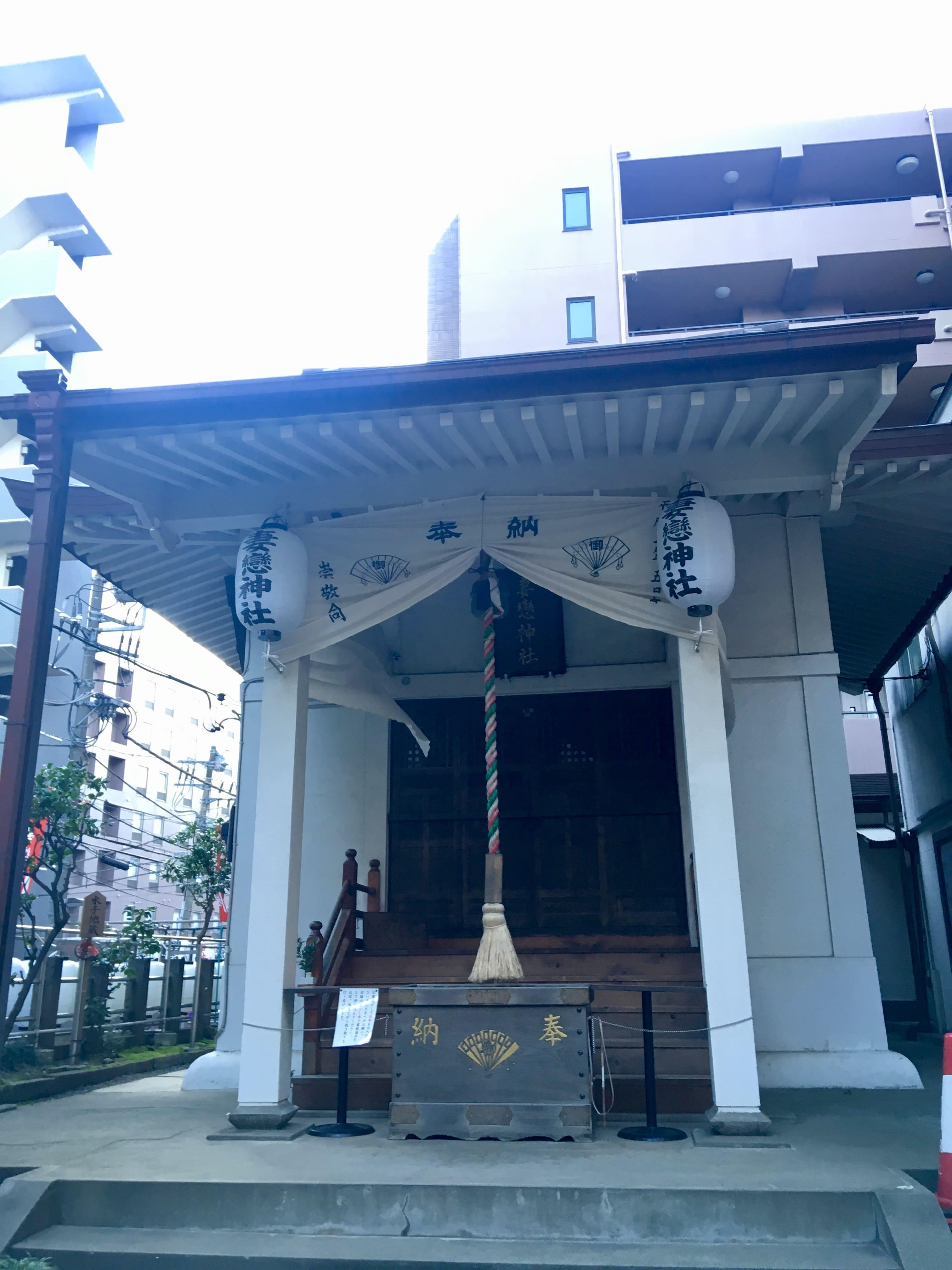妻恋神社の社殿・本殿画像