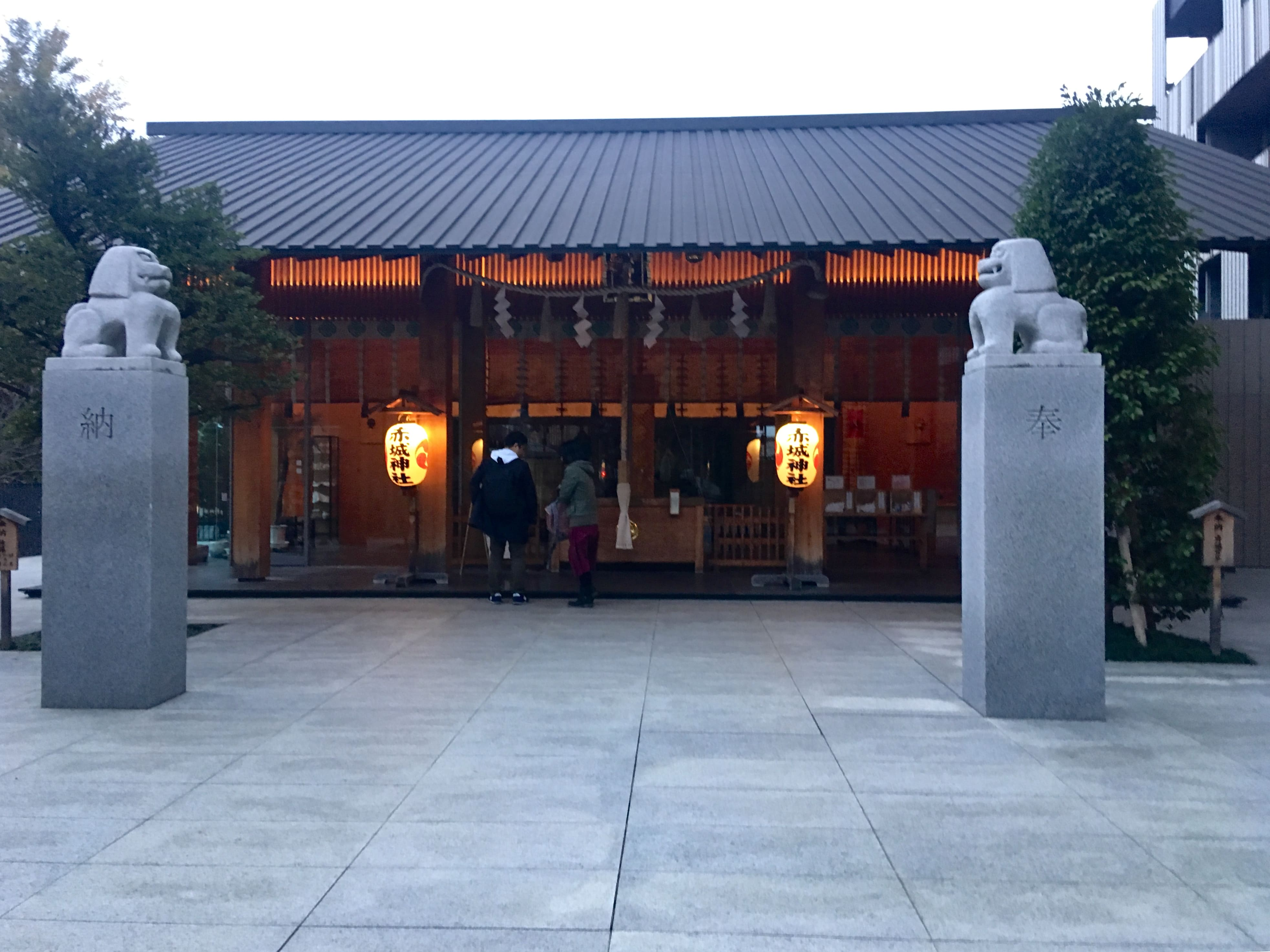 神楽坂、赤城神社